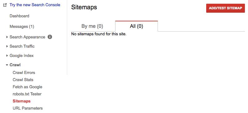 add test sitemap