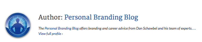 personal branding blog author