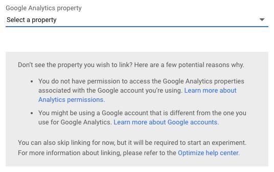 ab-testing-google-analytics-link-to-property