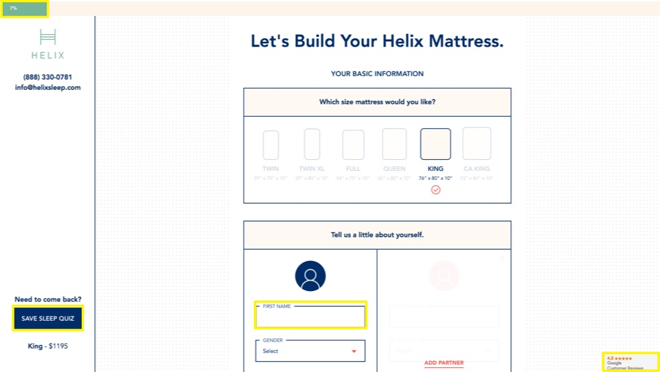 build your helix mattress