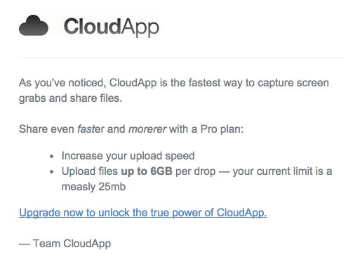 cloudapp conversion funnel example