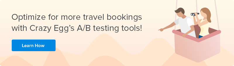 Optimize for travel bookings