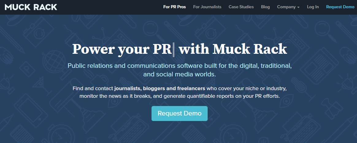 Public Relations With Muck Rack sales pages that convert