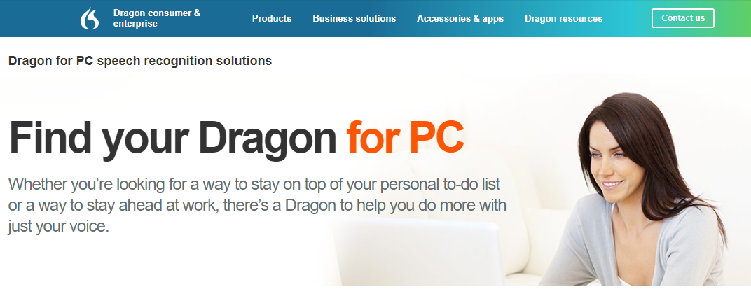 landing-page-design-dragon-naturally-speaking