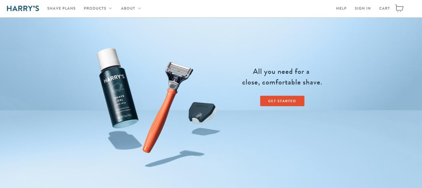 best-colors-websites-harrys