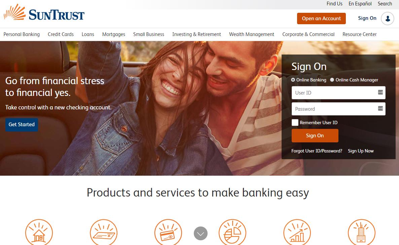 best-colors-websites-sun-trust