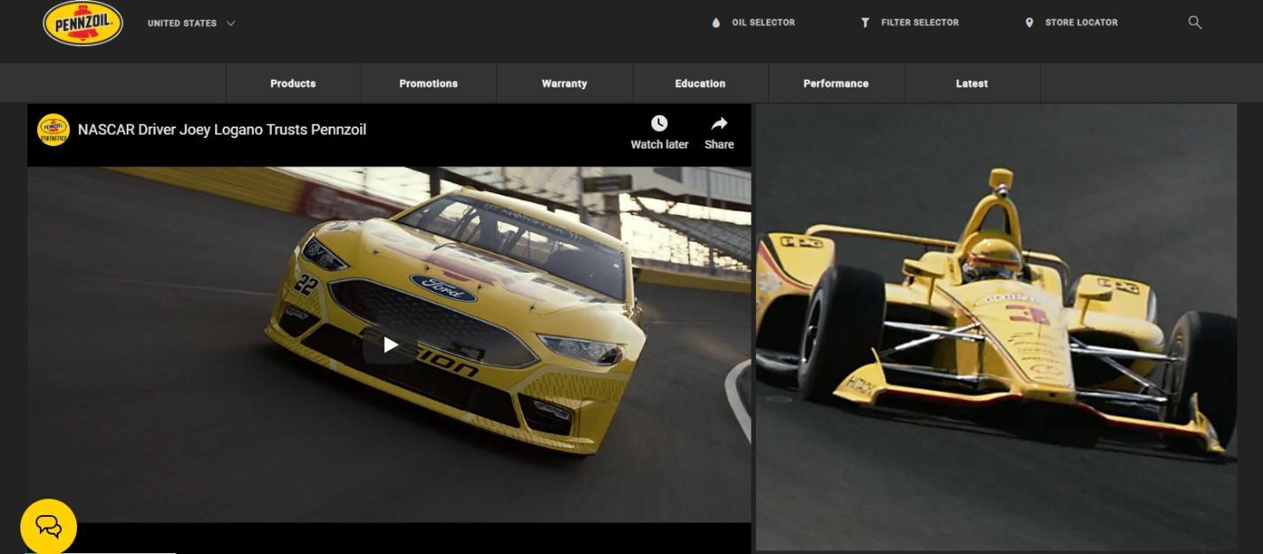 best-colors-websites-yellow-pennzoil