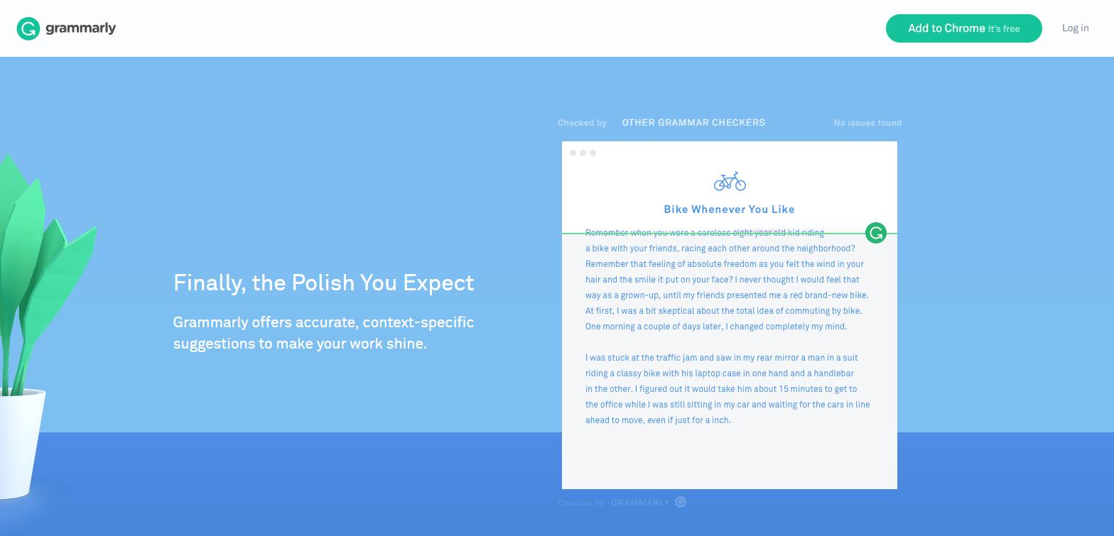 best-website-layouts-grammarly