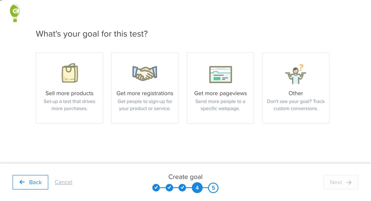ab testing goals