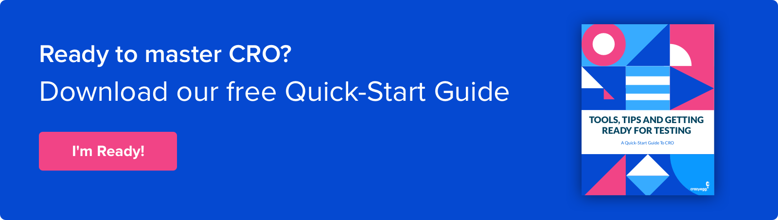 getting started guide to cro