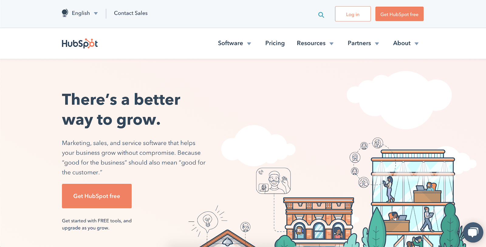 SaaS analytics tools: HubSpot