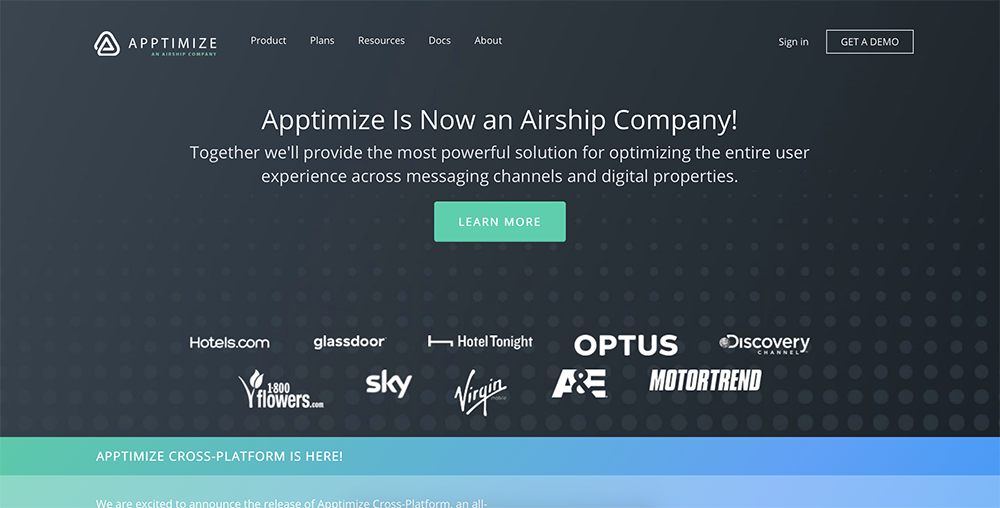 Optimizely alternatives: Apptimize