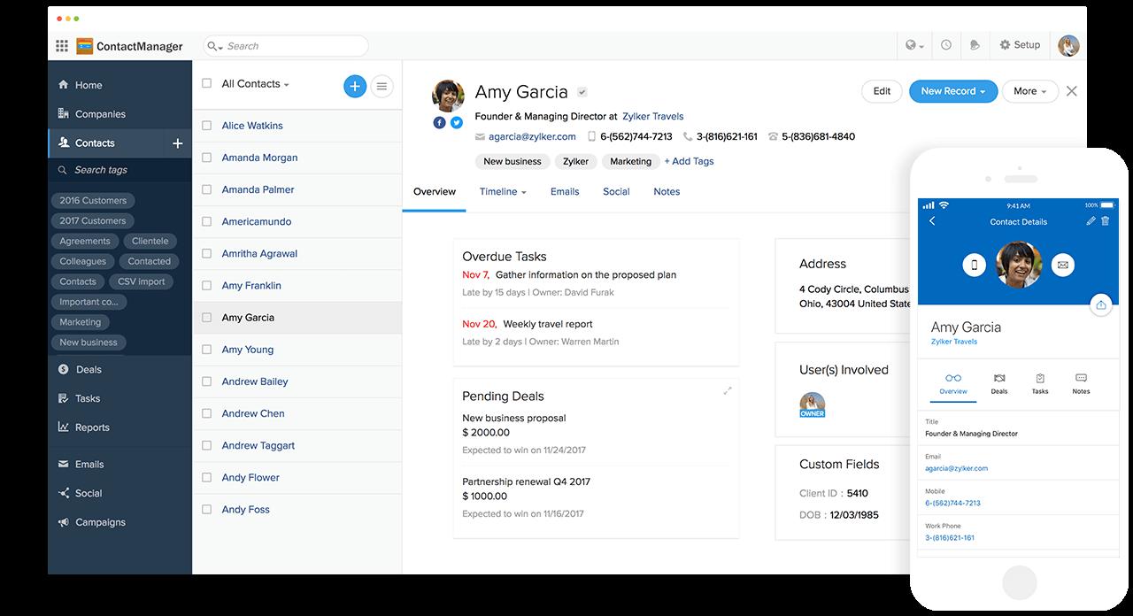 Best Contact Management Software