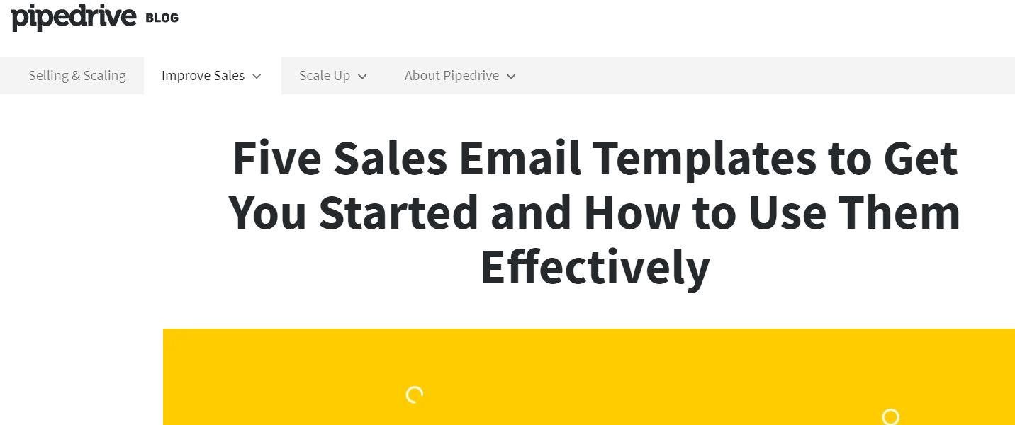 The Only 5 Sales Email Templates You'll Ever Need