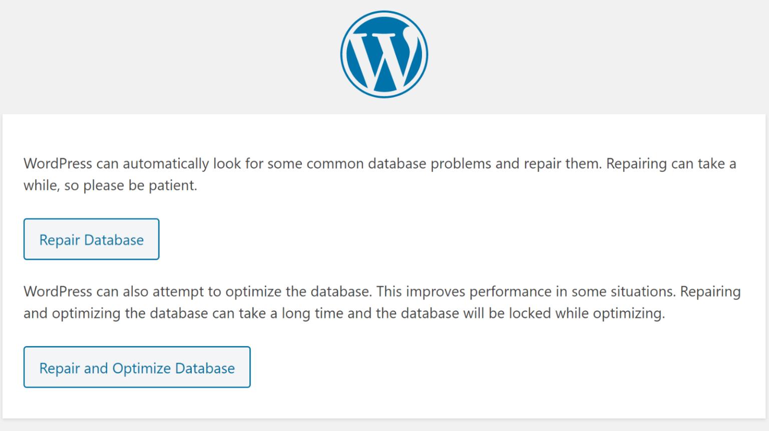 see wordpress database through wp-admin